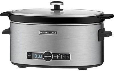KitchenAid 6-Quart Slow Cooker with Standard Lid