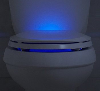 Kohler Nightlight Toilet Seat Improves Late Night Aim Techlicious