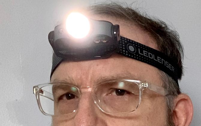 Ledlenser MH5 headlamp