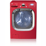 LG Front Load SteamWasher with Allergiene Cycle