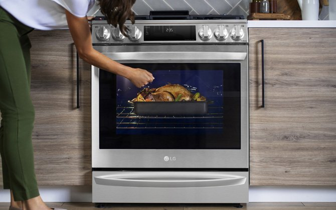 LG InstaView Range with Air Sous Vide