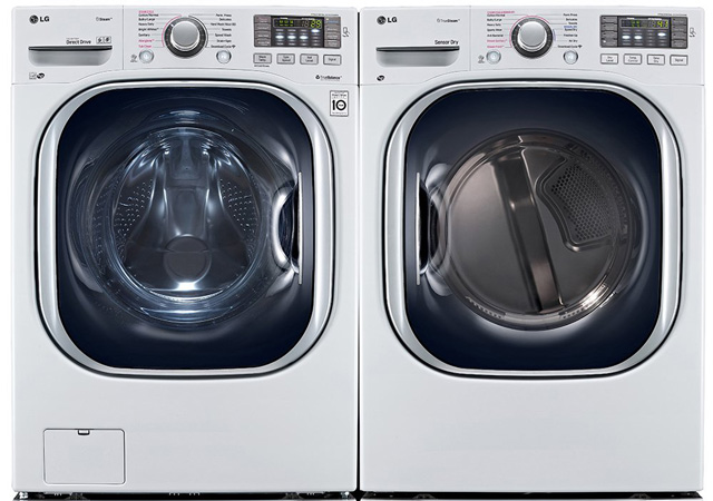 Washer and Dryer pair  with allergy cycle: LG Power Pair