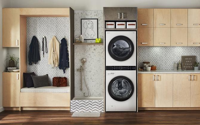 LG WashTower washer/dryer pair
