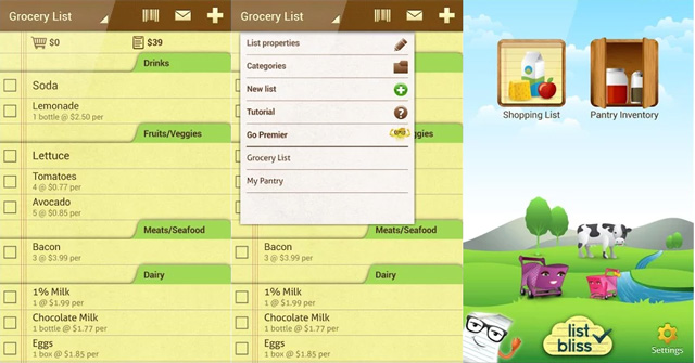 the best grocery list apps techlicious