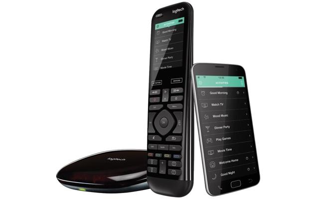 Logitech Harmony Elite remote control, hub and app