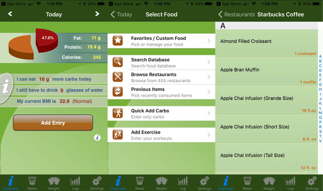 Best App for Finding Low Carb Foods: Low Carb Diet Assistant