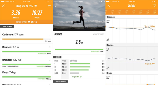 Lumo Run app