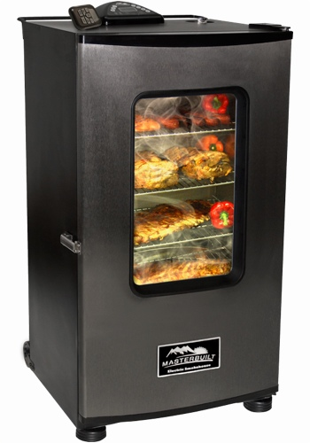 Masterbuilt remote-controlled meat smoker