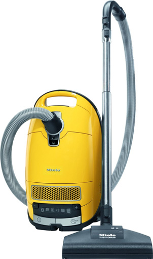 Vacuum cleaner with HEPA filter: Miele Complete C3