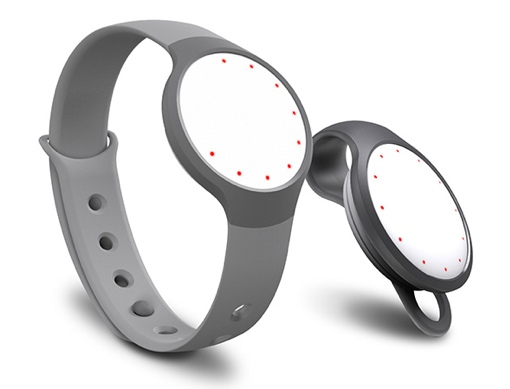 Misfit Flash tracker in white