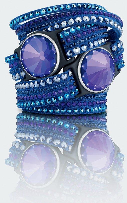 Misfit Swarovski Violet Shine