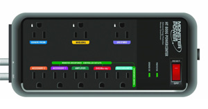 Monster MP HT 800G Home Theater PowerCenter with Monster GreenPower