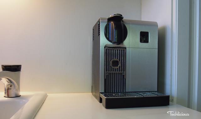 Nespresso Lattissima Pro on the counter