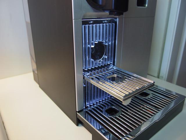 Nespresso Lattissima Pro  cup holder