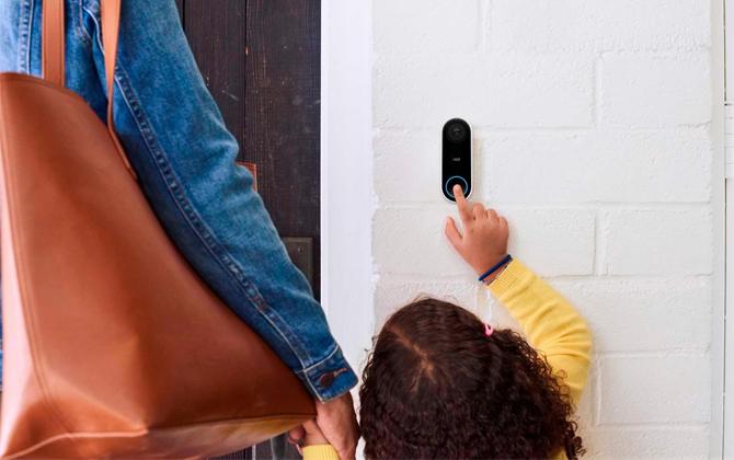 The best wired video doorbell: Google Nest Hello