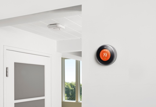 Nest Thermostat and Smoke Detector