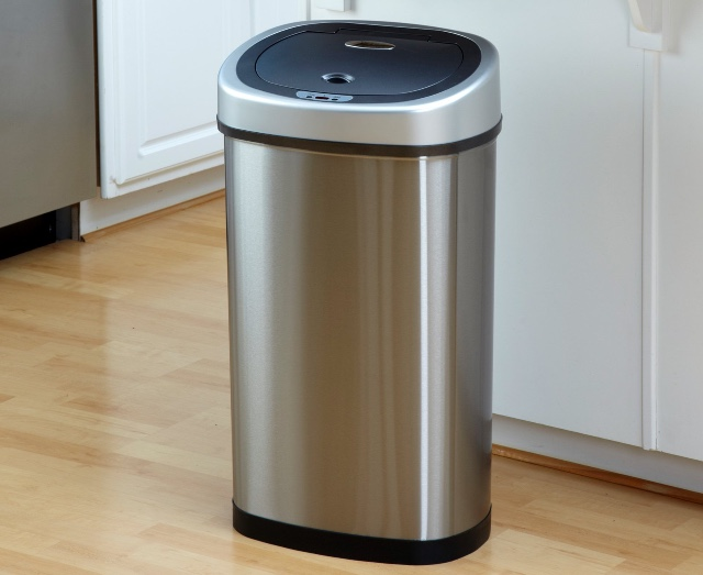 Nine Stars Infrared Touchless Trash Can