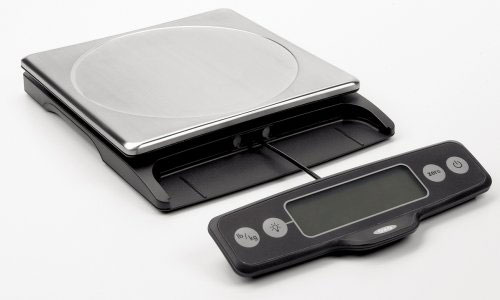 Kitchen Scale: OXO Good Grips 11-Pound Food Scale with Pull-Out Display
