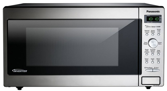 Panasonic Nn Sd745s Microwave Smaller
