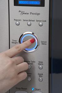 Panasonic NN-SE982S electrostatic dial