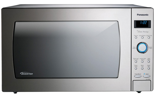 Good Countertop Microwave : The Panasonic NN-SE982S microwave stands out with its multiple cooking ...