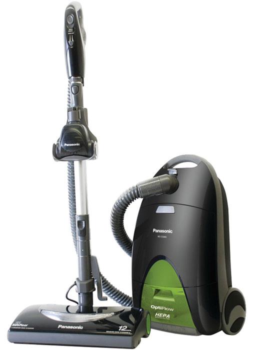 Vacuum cleaner with HEPA filter: Panasonic Vacuum with Optiflow