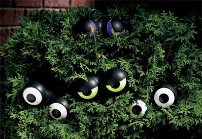flashing eyes halloween lights - Solar Halloween Decorations