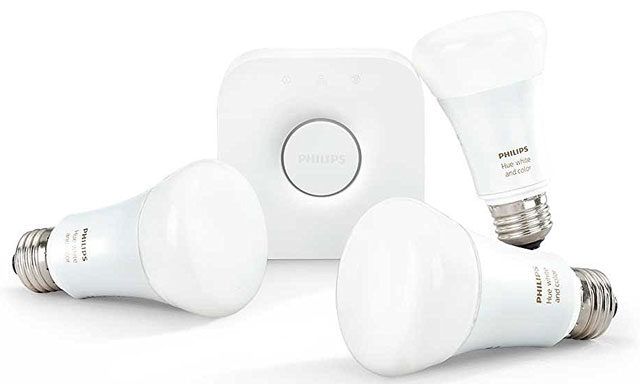 You can turn a regular lamp into a therapy light with Philips Hue White and  Color Ambiance smart bulbs.