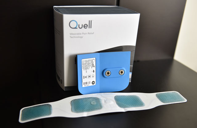 Quell with gel strip