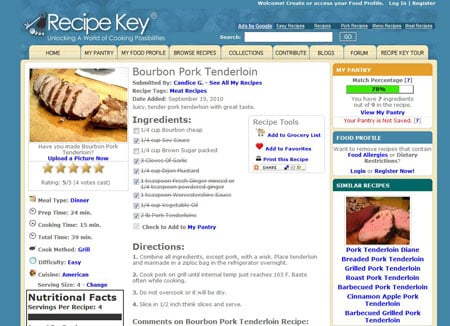 Recipekey.com