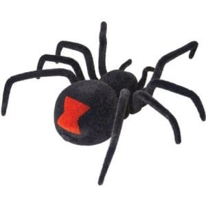 Radio-controlled black widow