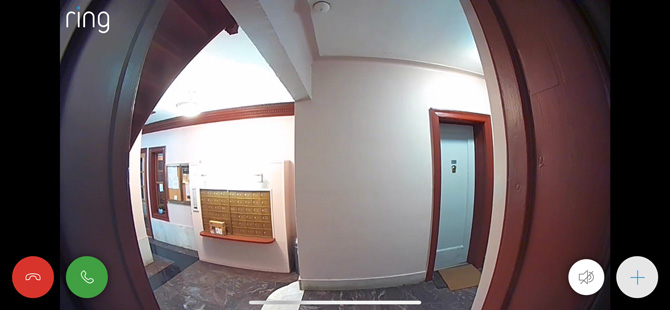 Ring Video Doorbell 3 Plus Live View