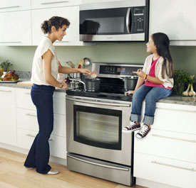 Samsung induction range