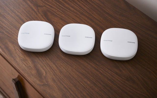 Samsung SmartThings home router and hub