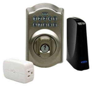 Schlage LiNK Starter Kit with Wireless Keypad Deadbolt