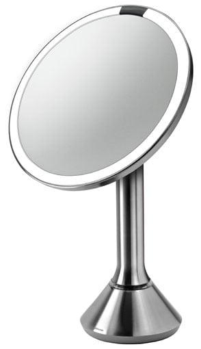 Simple Human 8-Inch Sensor-Activated Lighted Vanity Mirror