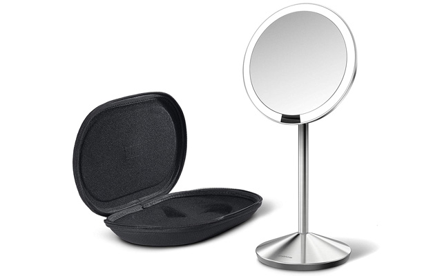 simplehuman Mini Sensor Lighted Makeup Mirror