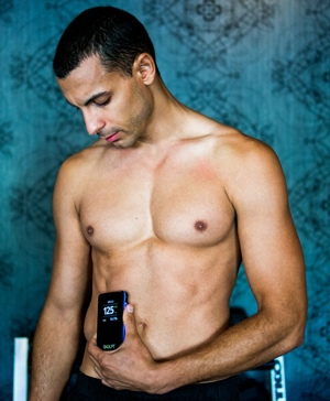 Skulpt body fat monitoring device