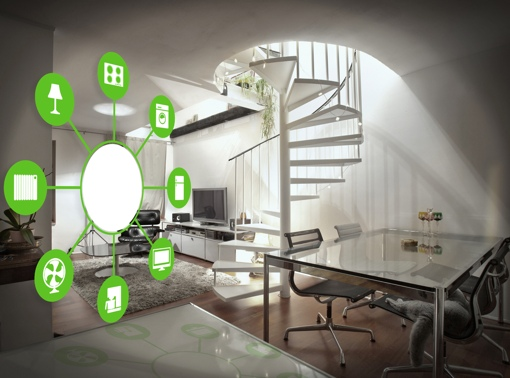 Smart home concept photo