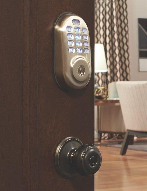 Staples Connect door lock