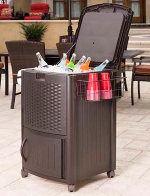 Suncast Wicker Cooler