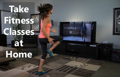 Take fitness classes at home, streamed to your TV, tablet, phone or laptop.