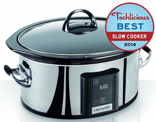 Crock-Pot 6.5 Quart Countdown Programmable Touchscreen Slow Cooker
