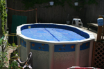 Tobey's above-ground pool