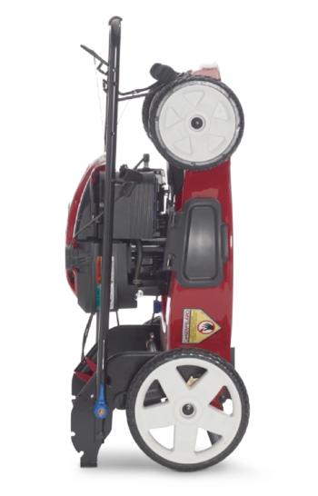 Toro Recycler with SmartStow mower
