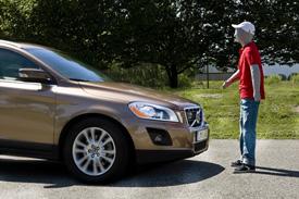 Volvo Pedestrian Safety System