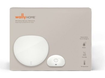 Wally hub and water sensor package