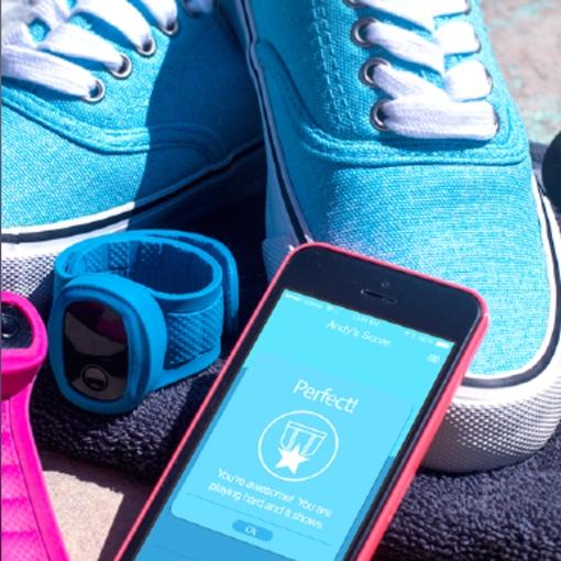 X-Doria KidFit activity monitor and app