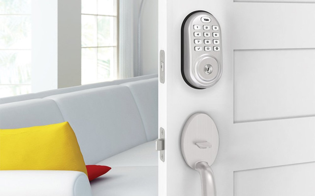 Yale Real Living smart lock
