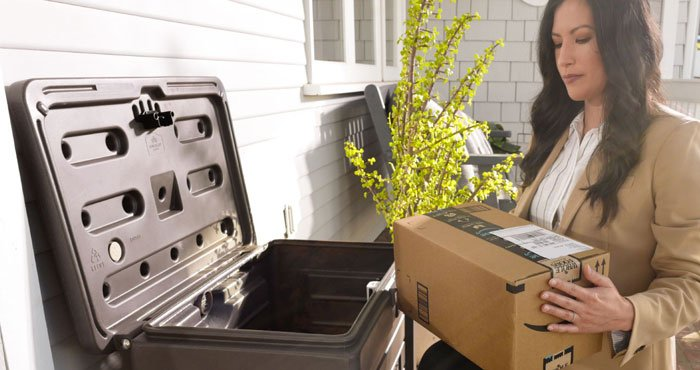 Yale Smart Delivery Boxes Thwart Package Theft